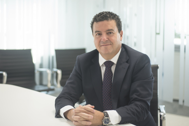 Jesús Sancho, Middle East managing director for ACCIONA.