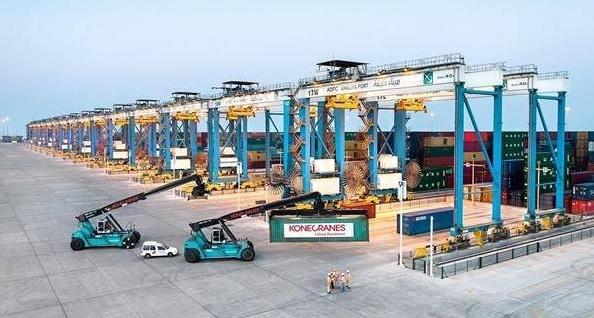 Konecranes, Abu Dhabi Ports, Port Khalifa, Port expansion