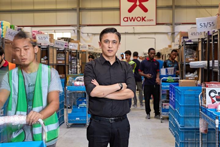 Awok.com, E-commerce, Dubai, Gcc, Logistics, Last mile