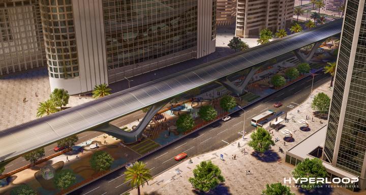 Hyperloop, HyperloopTT, Abu dhabi, Uae