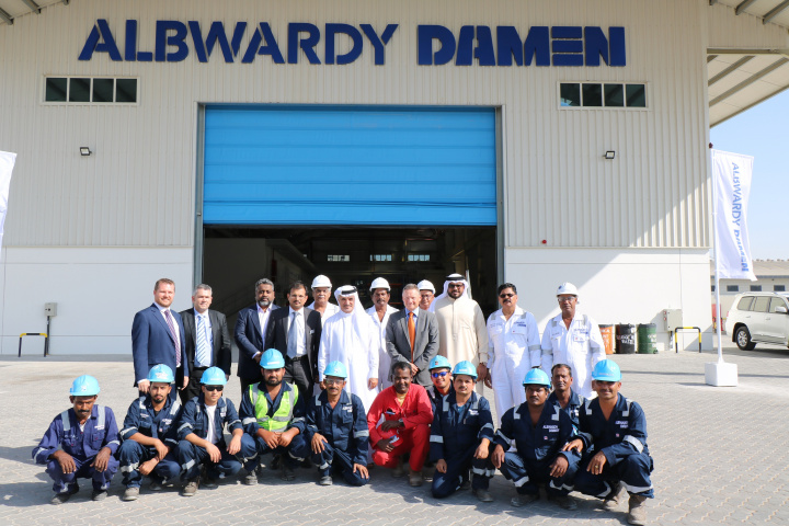 Albawardy Marine Engineering, Albwardy Damen, Damen, Shipyard, Uae, Dubai maritime city