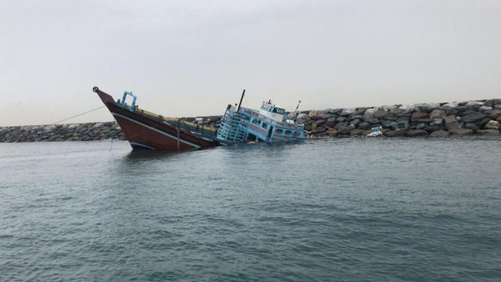 Dhow, Cargo, Ship, Dubai, Storm