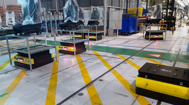 Kivnon AGV, Automation, Automotive, Manufacturing