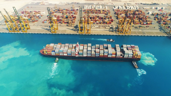 King Abdullah port, Saudi arabia, Port operations, Shipping