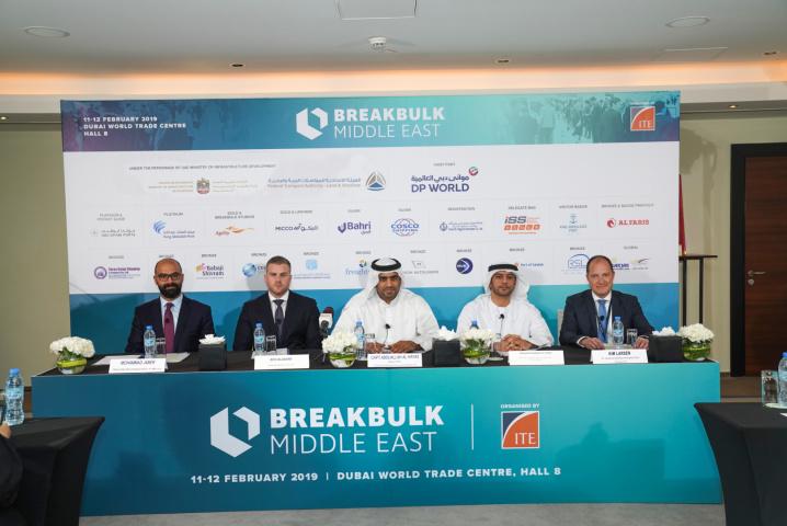 Breakbulk Middle East 2019, Breakbulk, Logistics, Maritime, Uae