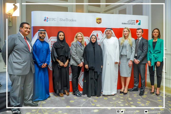 Shetrades mena, Ups, Dubai exports, Trade