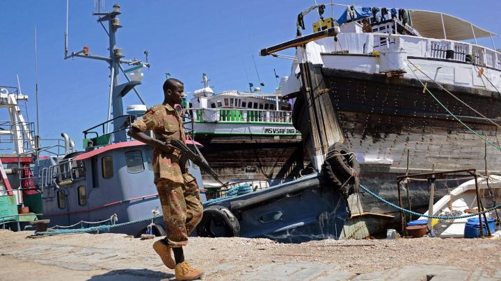 Bossaso Port, Puntland, Somalia, Dp world