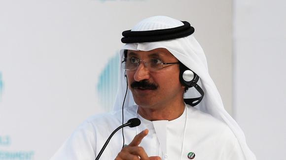 Sultan Ahmed Bin Sulayem, chairman and CEO of DP World