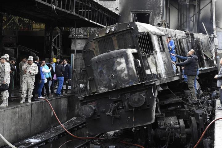 Egypt, Railway, Train, Collision, Accident, Cairo