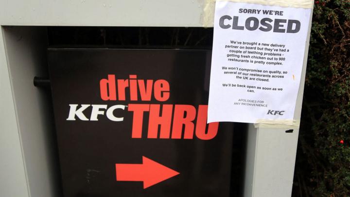 KFC, Chicken, Supply Chain, Brexit, Uk, Dhl