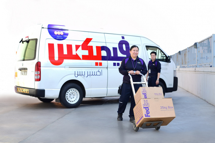 Fedex, Express logistics, Female empowerment, Gender equality, Courier, Middle east