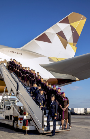 Etihad Airways, Women in logistics and transport middle east, Female empowerment, Abu dhabi