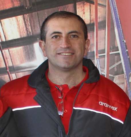 Faris Fallouh, global express and ground operations director at Aramex