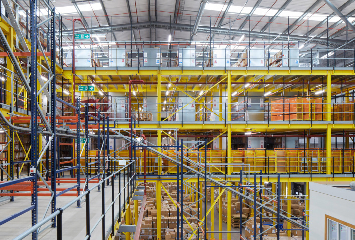 BS Handling, ASOS, Warehouse, Distribution centre, Retailer