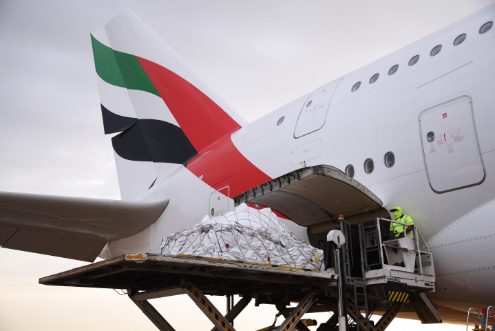 Emirates skycargo, Air cargo, Transport, Freight