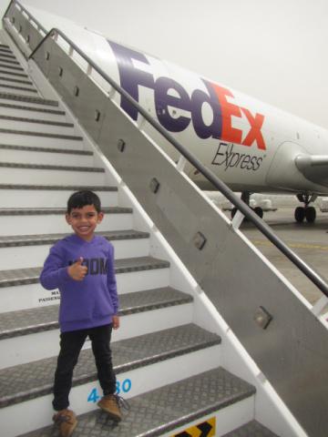 Fedex express, Dubai, Mena, Isaac, Air cargo