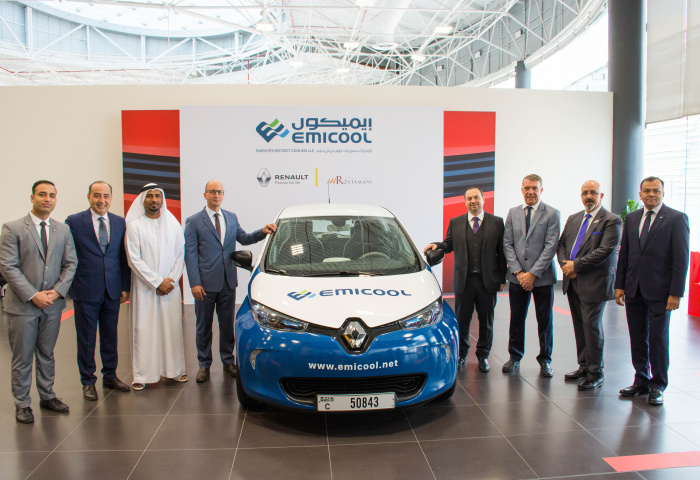 Renault, Electric car, Emicool, Uae, Dubai