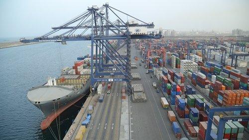 Image illustrative only (Hutchison Ports' terminal in SOHAR).
