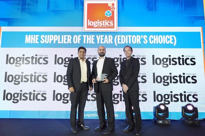 Mhe, Material handling, Swisslog, Logistics middle east awards