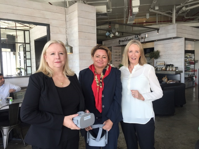 Julie Jackson, senior training manager at Karsta ME and co-founder of Saulwick Adams (left), with Maggie Andrews, associate director, business & strategy, Karsta ME (middle) and Marianne Saulwick, co-founder Saulwick Adams.