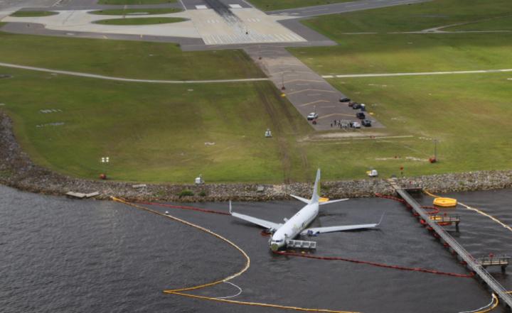 Plane, Emergency, Crash landing, Boeing 737
