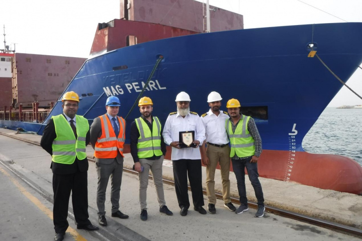 Sharjah container terminal, Sharjah, MAG Lines, Container shipping, Container feeder