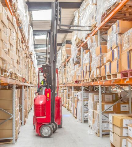 Warehouse, Vna, Forklift, Dalgard