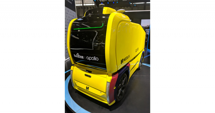 Neolix, Driverless cars, China
