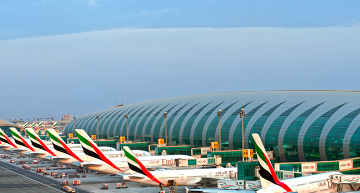 Dubai international airport, DXB