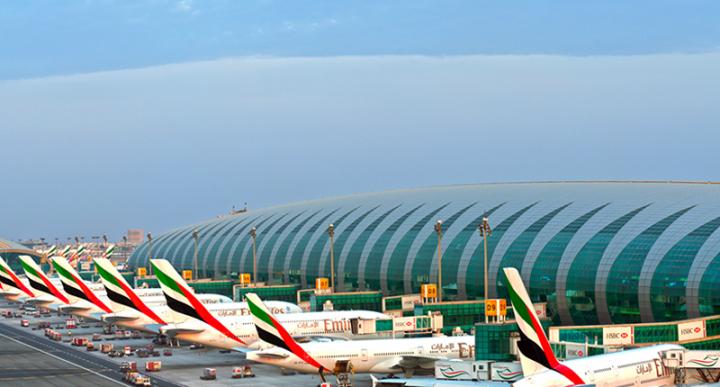 Dubai international airport, DXB