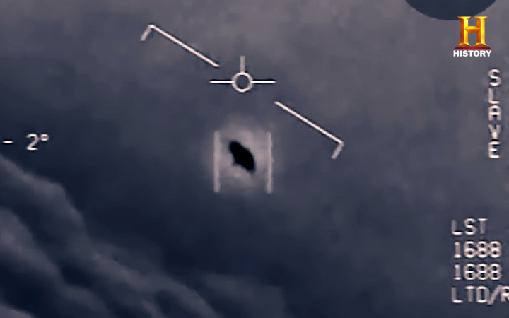Ufo, Aircraft carrier, US Navy