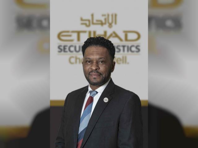 Vincent Hampton, managing director of Etihad Secure Logistics