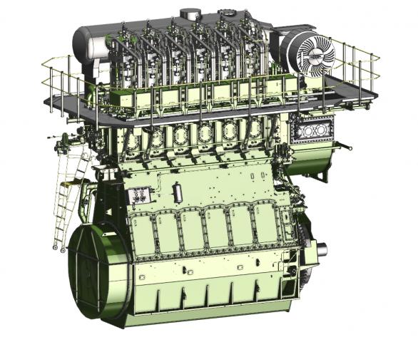 Win gd, Marine engine, Duel fuel, Maritime