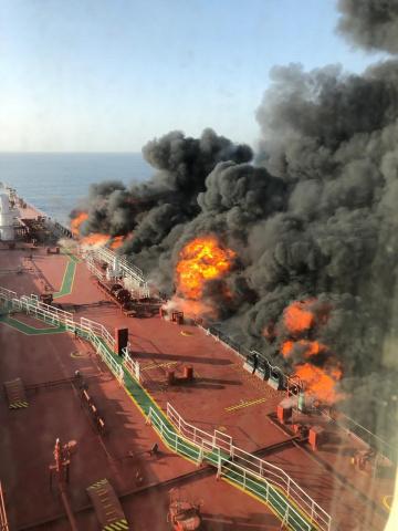 Gulf of Oman, Arabian gulf, Oil tanker, Insurance, Iran