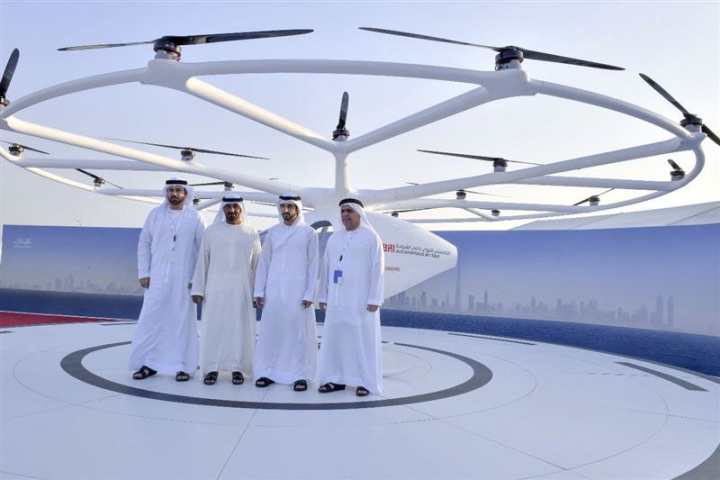 Dubai, Volocopter, Uae, Flying taxi