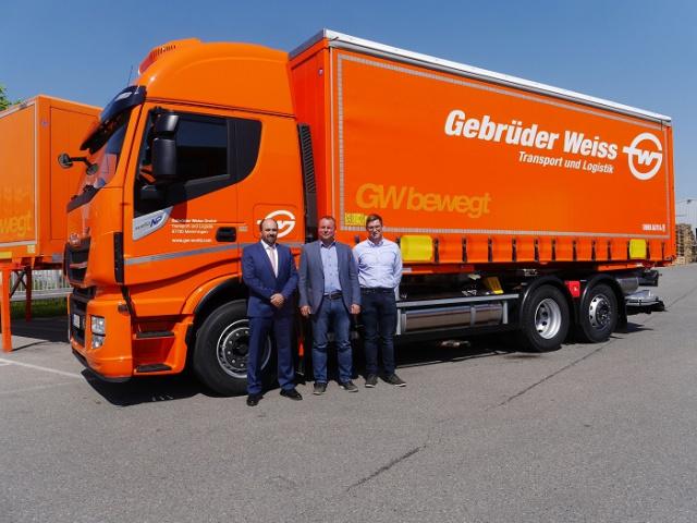 Gebrüder Weiss, Appointment, Logistics