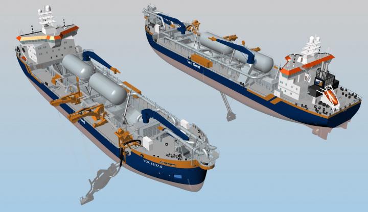 Dredger, ABB, Maritime, Equipment