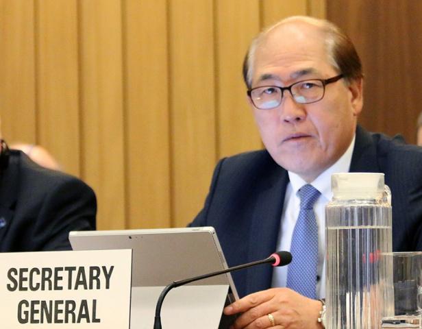 IMO Secretary-General Kitack Lim