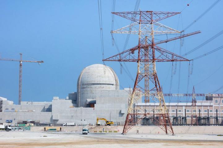 Nuclear, Power plant, Uae, Abu dhabi
