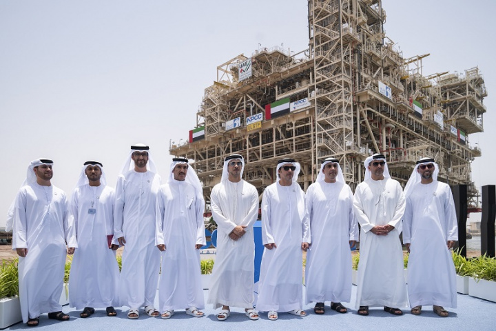 Umm Lulu Gas Treatment Plant, Adnoc, Offshore oil platform, NPCC