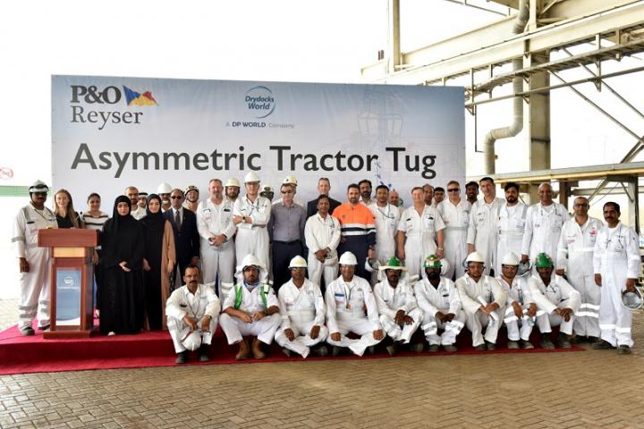 Dubai Drydocks, IMO Tier III, Tug boat