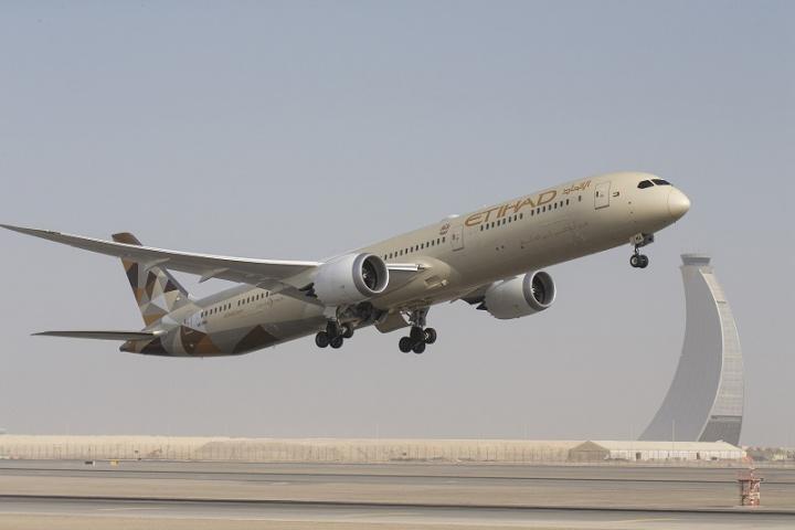 Etihad Airways, China, Abu dhabi