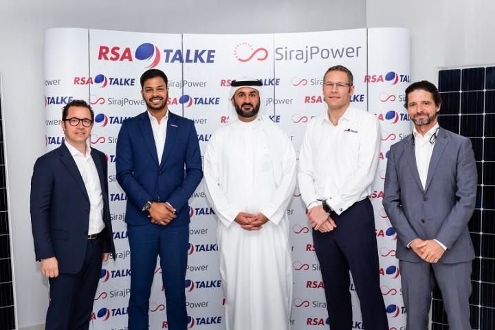 Sirajpower, RSA-TALKE, Chemical logistics, Solar power, Environment