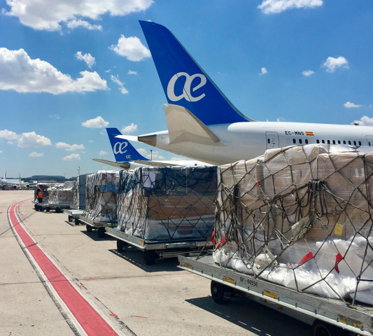 Air europa, Air cargo, Scandinavia, Gsa