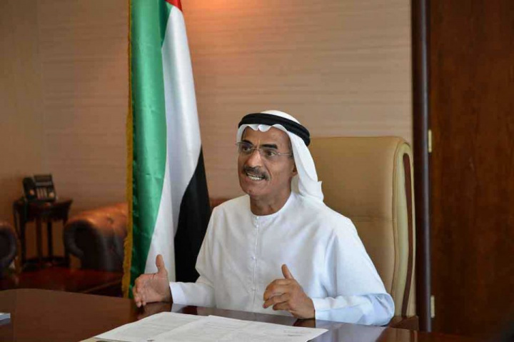 Infrastructure and Development Minister Abdullah Al Nuaimi