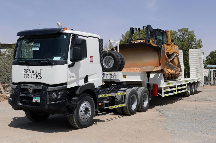 Renault, Trucks, Barari Natural Resources, Uae