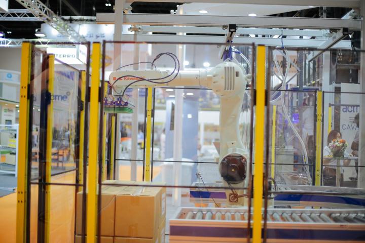 Swisslog, Automation, Robotics, Materials handling middle east