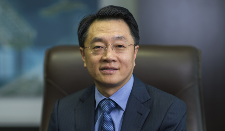 Yu Tao, the chief executive officer of China State Engineering and Construction Middle East (CSCEC ME)