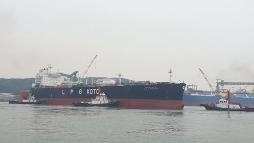 KOTC, Gas tanker, Shipping