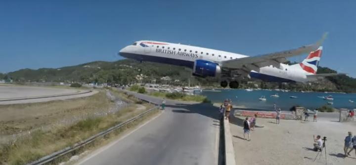 British airways, Greece, Low landing